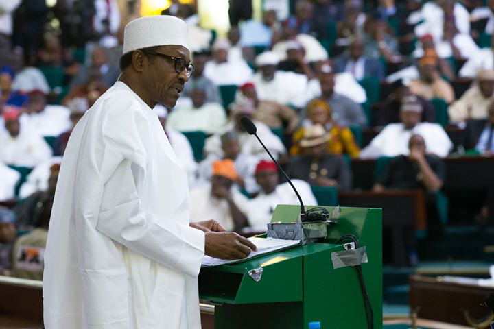 President Buhari presents N8.612trn budget proposal for 2018 to NASS