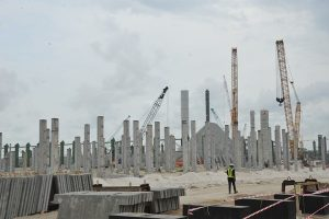 Construction of Nnewi public cemetery under way - Otolo Nnewi PG - public cemetery, public, otolo nnewi, Nnewi, construction