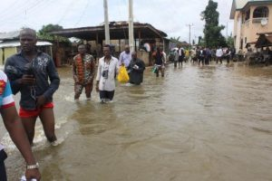 Nkpor PG cries out as flood cuts off Ngige road - the palliative work, the idemili north, the community, Nkpor, ngige road, Ngige, Flood