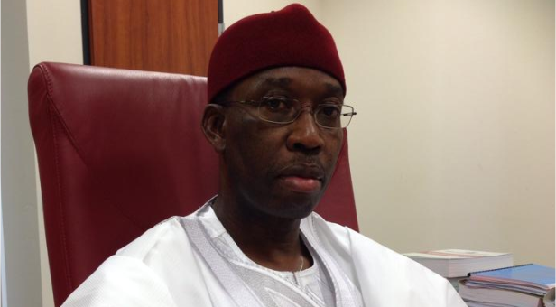 How Okowa's security aide assaulted journalists during budget presentation - the state house, the 2020 budget, Security, police officer, Journalists, counter terrorism, budget