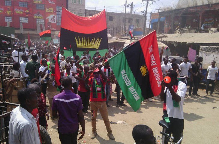 IPOB threatens to deal with anti-Biafra elements in Igboland - the indigenous people, the indigenous, subservient biafran politician, IPOB, indigenous, deal with, Biafra