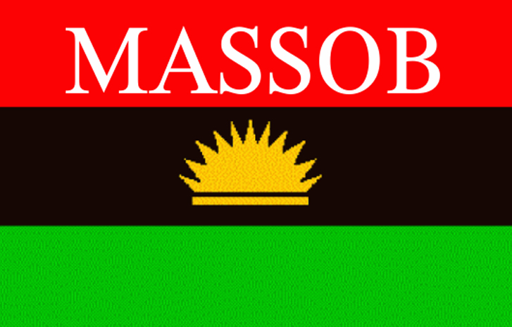 MASSOB vows to resist re-introduction of tollgates in S'East, S'South - tollgates, the northern region, the federal government, the federal, state, MASSOB, Federal Government