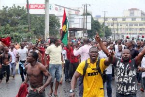 IPOB protest herdsmen killing, rape in southeast - their evil plan, supreme clergy council, protest, IPOB, indigenous people, Herdsmen, biafra ipob