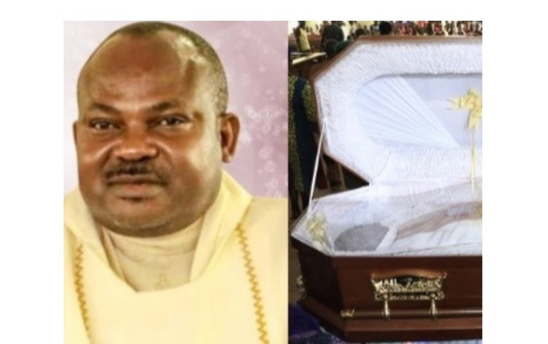 Murdered Catholic priest buried amid tears in Enugu - the state, priest, murdered, have been caught, Catholic, and other
