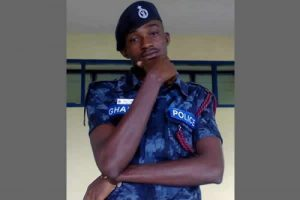 Frustrated Ghanaian policeman on night duty shoots self on the head - with his, the head, policeman, head, duty