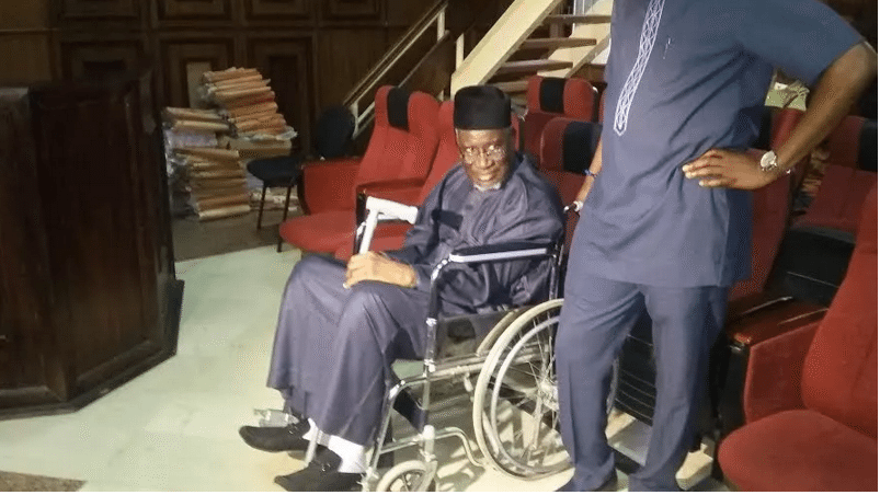 Court fails to rule on Maina's bail application - justice okon abang, his bail application, former chairman, court, bail application, bail, application