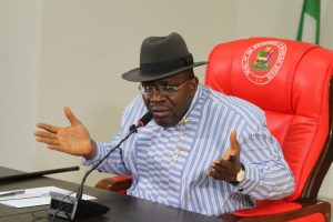 Gov Dickson rejects outcome of Bayelsa guber poll - the pdp, the former president, that the, Governor, Dickson, Bayelsa