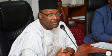 INEC donates cash to family of deceased ad hoc staff - who died during, the family, INEC, hoc staff, Family, died while serving, deceased