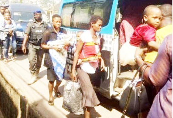 Commissioner uncovers 2 baby factories, rescues pregnant girls in Anambra - pregnant girls, factories, Commissioner, baby factories, baby