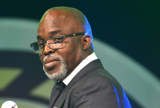 Eze will add value to S/Eagles - Pinnick - the youngster, the festival torch, state, pinnick, orient sports reports, meeting with, Imo state, Imo, Governor, for the, Eze, Eagles