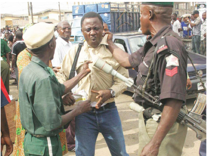 Abia police arrest pensioners during protest against non-payment of pension arrears - the commissioner however, said that they, said that, police, pensioners, pension arrears, abia
