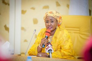 Aisha Buhari urges Nigerian youths to be patience, tolerance - Youths, the first lady, the first, Buhari, aisha buhari, aisha